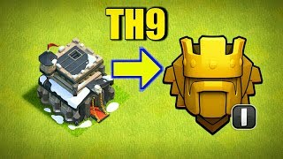 Best Army for TH9 to push trophies !