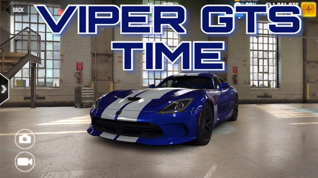 CSR Racing 2 T4 Dodge Viper GTS TIME! - The7WorldsGaming