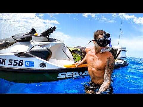 I Bought My Dad His DREAM JETSKI Amazing Clear Water Catch & Cook - Ep 166