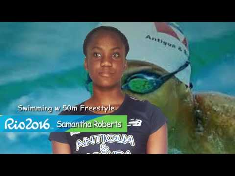 Antigua Barbuda Olympic Team OFFICIAL promo, Rio 2016 Olympic Games