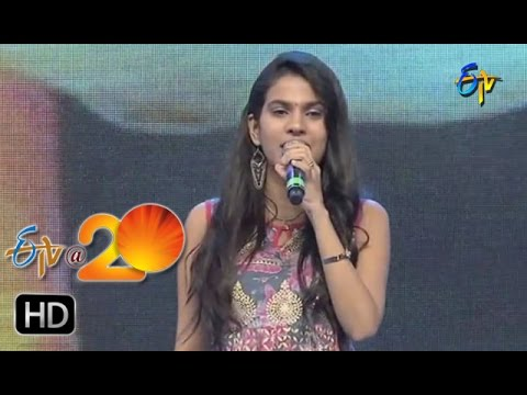 Sravana Bhargavi,Vijay Prasad Performance - Aakalesthe Annam Song in Kurnool ETV @ 20 Celebrations