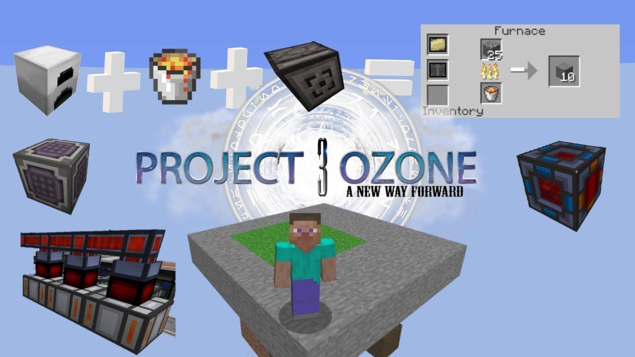 Project Ozone 3 A new way forward, Skyblock Let's play, hopefully