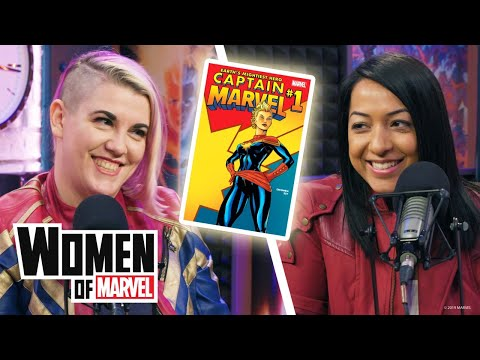 Writers of Captain Marvel's 2012 comic series join the Women of Marvel podcast!