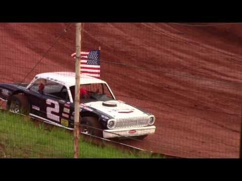 Winder Barrow Speedway Star Spangle Banner 4/15/17