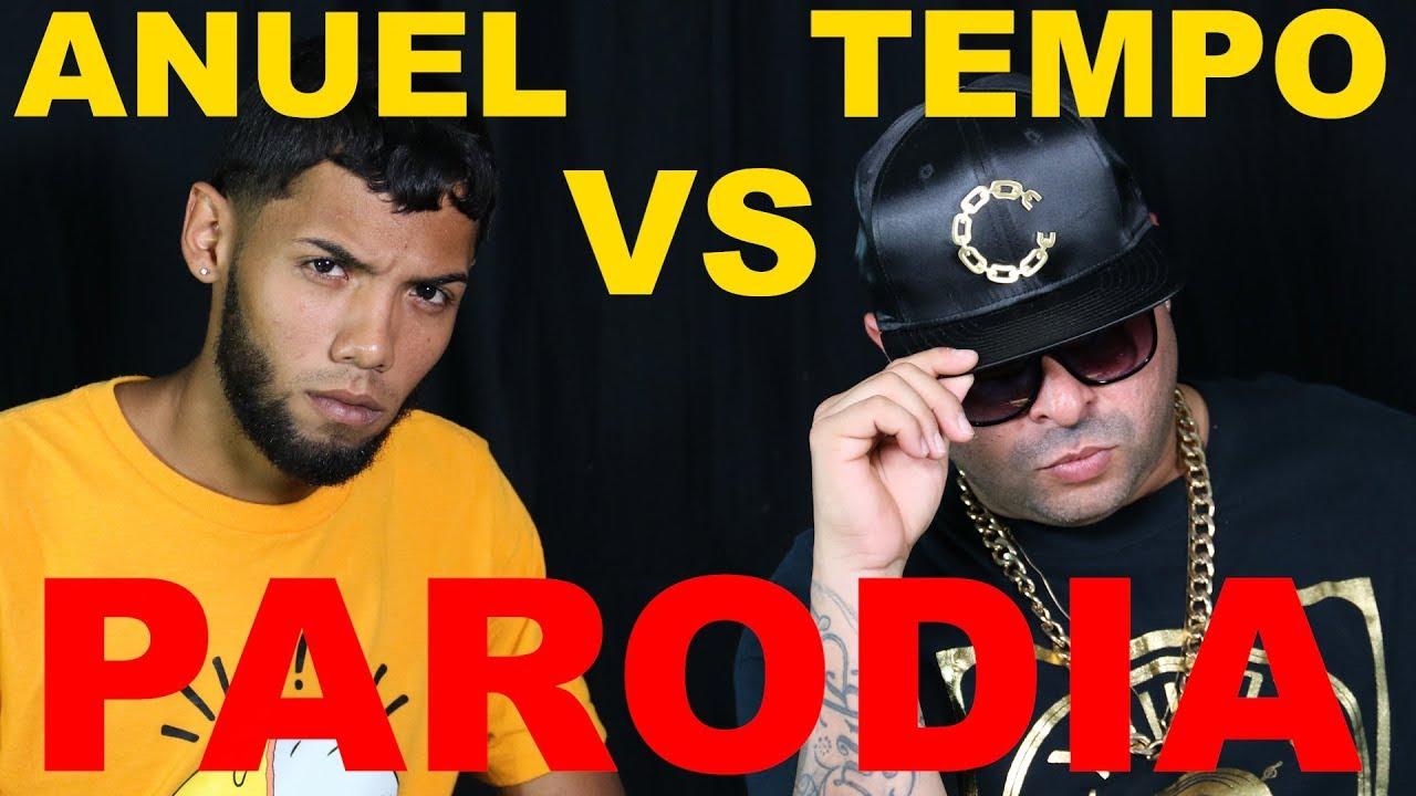 Mi Artista Favorito: Anuel vs Tempo (Parodia)