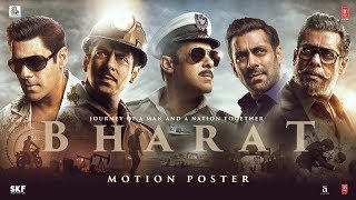 Bharat | Official Motion Poster | Salman Khan | Katrina Kaif| Bharat ►Releasing This Eid