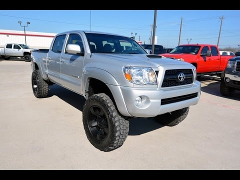 2011 Toyota Tacoma Double Cab V6 4wd Lifted Truck Youtube