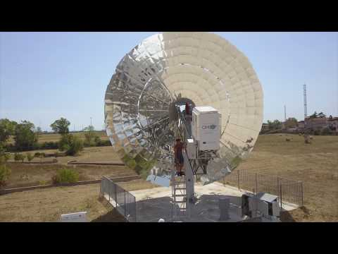 The Optimised Microturbine Solar Power system (OMSoP) project (full video)