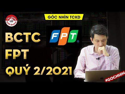 [BCTC] FPT: Doanh thu và Lợi nhuận tăng bền 2 con số - Báo cáo tài chính Q2/2021