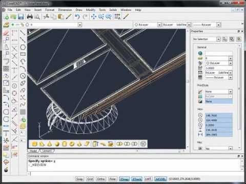 CorelCAD™ - 3D solid modeling (part 2)