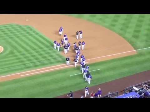 Colorado Rockies Walk Off vs. Arizona Diamondbacks at Coors Field Denver August 2015