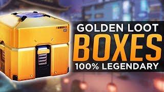 Overwatch: NEW Golden Lootboxes - 100% Legendary guarantee