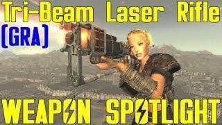 Fallout New Vegas: Weapon Spotlights: Tri-Beam Laser Rifle (GRA)