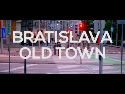 Bratislava Old Town | At Night
