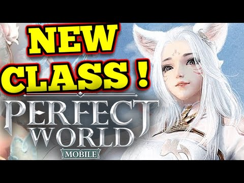 Vulpine NEW RACE/CLASS ! : Perfect World Mobile
