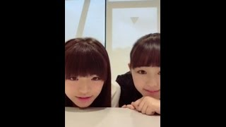 20170514 LINELIVE 原宿駅前パーティーズ 1(岩崎春果、伊藤小春)