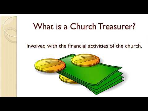Church Treasurers Workshop - November 3, 2017