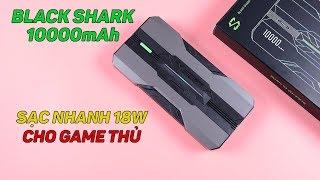 Pin dự phòng cho game thủ Xiaomi Black Shark 10000mAh hầm hố, sạc nhanh 18W, giá siêu rẻ