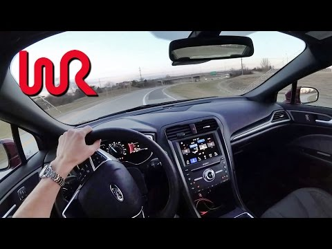 2017 Ford Fusion Sport - POV Test Drive (Binaural Audio)