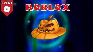 Roblox | How to get the Pumpkin Fedora (Halloween Event 2018)