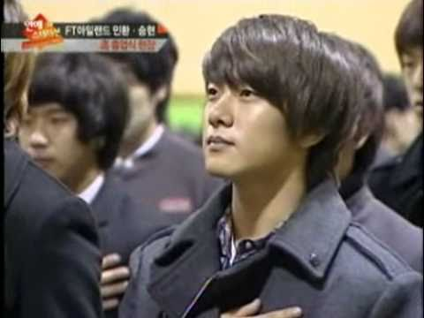 110218 FT Island's Seung Hyun & Min Hwan High School Graduation
