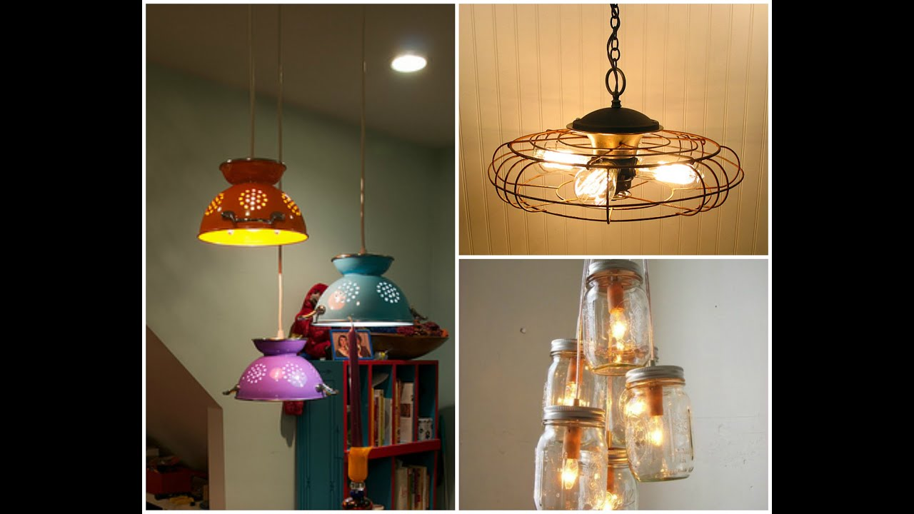 Diy lighting ideas creative home decor youtube for Home decorators lighting