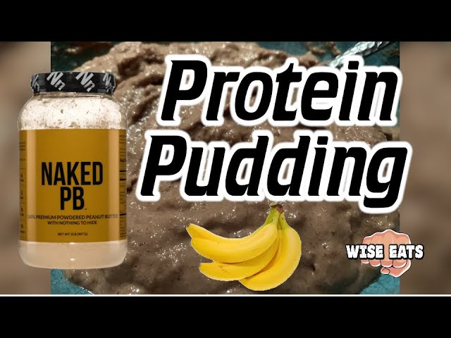 Wise Eats Chocolate-Banana Frozen Protein Pudding Recipe