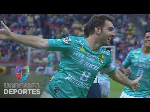 Boselli se lució con un estupendo gol para poner adelante a León