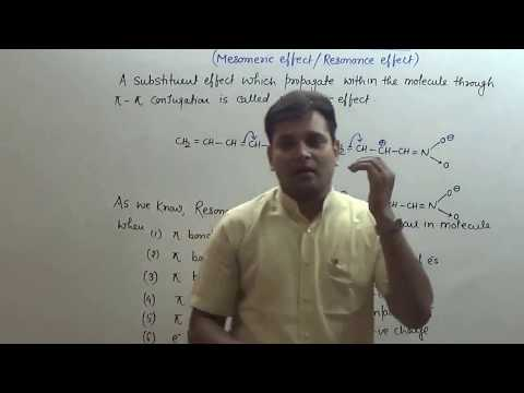 3. GOC 2: Substituent Effect, Mesomeric Effect (JEE Main + JEE Advanced + NEET + AIIMS)