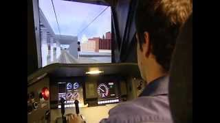Inside Amtrak's engineer training school