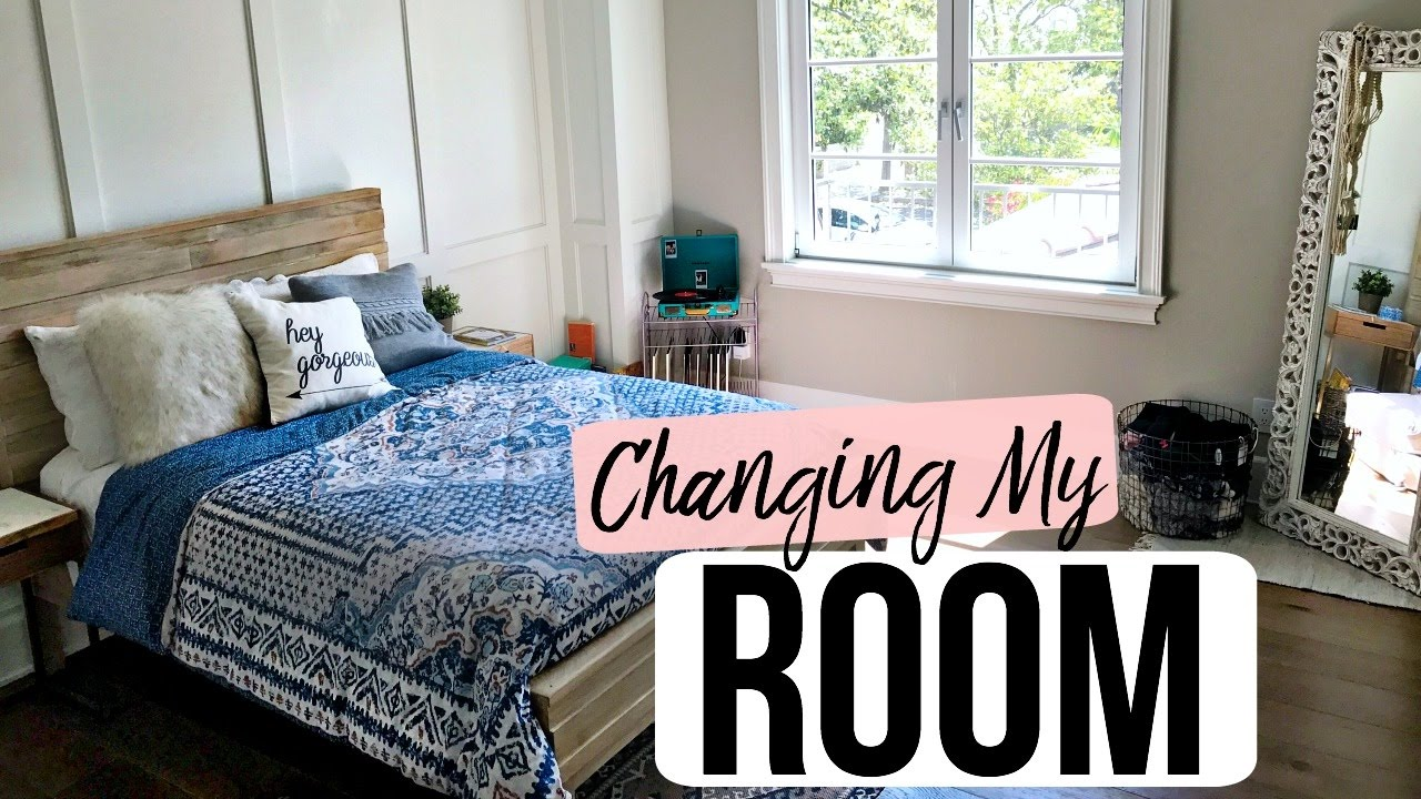 Changing My Room Decor + Bathing Suit Haul!