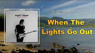Patrick Droney - When The Lights Go Out (Lyrics)