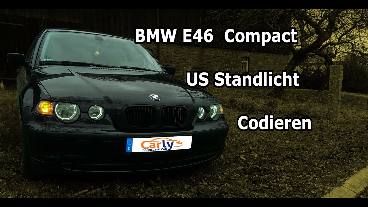 bmw e46 us standlicht codieren e46 compact youtube. Black Bedroom Furniture Sets. Home Design Ideas