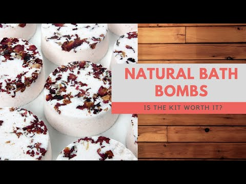 Bramble Berry Natural Bath Bomb Kit Review And Demo