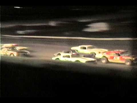 5 Mile Point Speedway Street Stock races on 6-24 1989 12 following Mike Clapperton M16 win