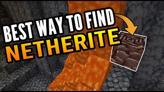 Best Way To Find Netherite / Ancient Debris (New Rarest Ore) - Minecraft 1.16
