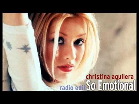 Christina Aguilera - So Emotional (Radio Edit)
