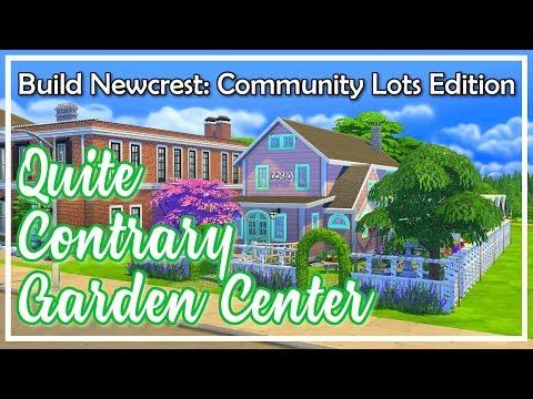 Quite Contrary Garden Center - The Sims 4 Speed Build