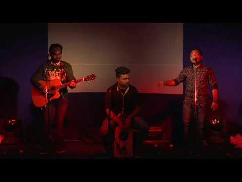 Prithibi Ta Naki Choto Hote Hote (Live) || Our Very First Trio Live Performance