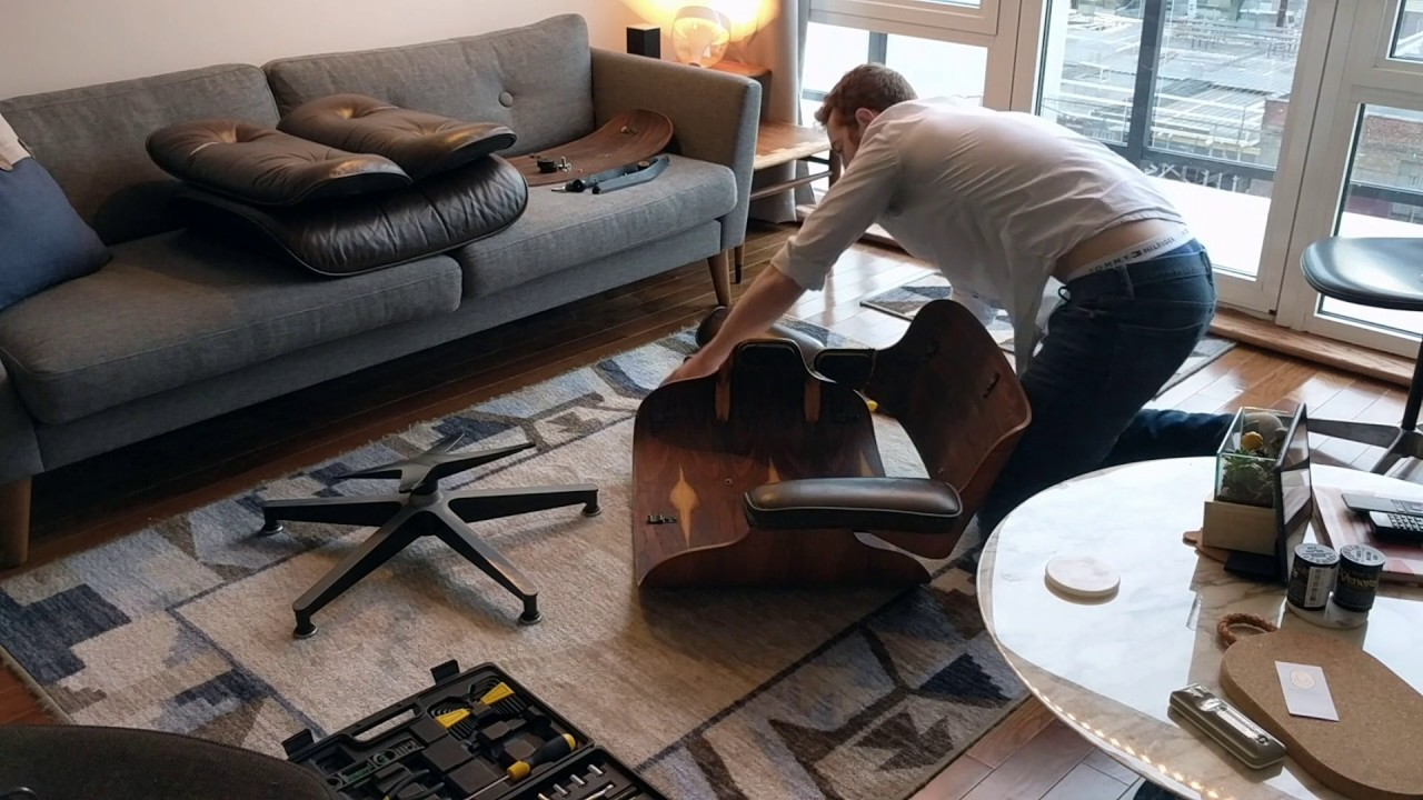 Eames Lounge Chair Restoration