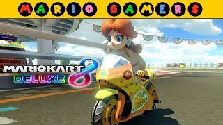 Mario Kart 8 Deluxe - Egg Cup 100cc (Grand Prix Mode) - Daisy Gameplay | MarioGamers