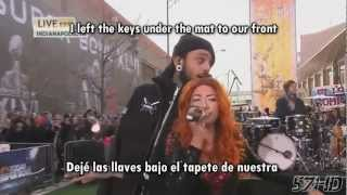 Gym Class Heroes Ft. Neon Hitch - Ass Back Home Live Subtitulado Español English Lyrics