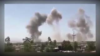 حمله سپاه پاسداران به پایگاه های حزب دموکرات کردستان در خاک عراق
