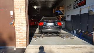 2003 SVT Cobra Shoots Flame on Dyno