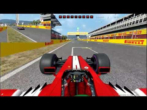 Automobilista Formula Ultimate Barcelona onboard lap