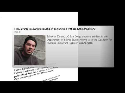 Human Rights Center 20th Anniversary Timeline