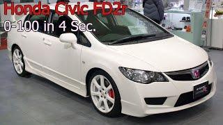 Honda Civic Fd2r K20a 0-100 In 4 Seconds