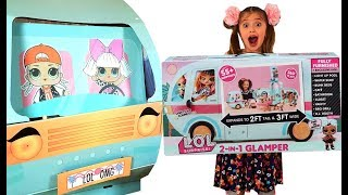 Dominika UNBOXED New LOL Surprise 2-in-1 Glamper