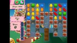 Candy Crush Saga level 154 verbal help with no bonuses/cheats used