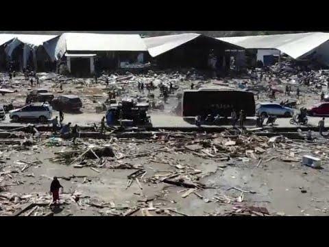 Pantauan Udara Kerusakan Akibat Gempa dan Tsunami di Sulteng